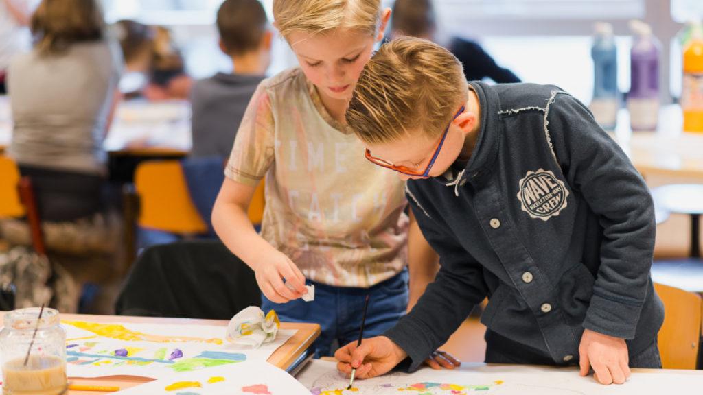 Ruim 70% van de scholen werkt met CmK-projecten